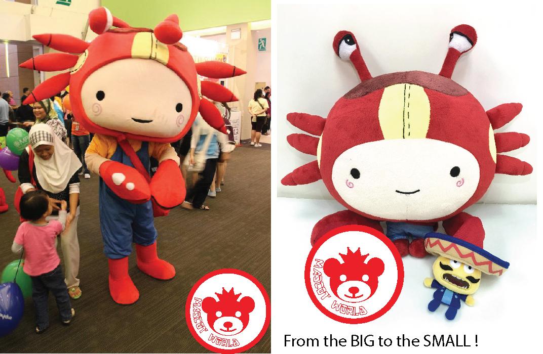 customize mascot and toys malaysia
